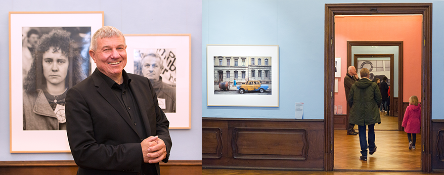 """Vernissage der Ausstellung """"Wendejahre"""" von Daniel Biskup"""